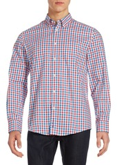 Ben Sherman Classic Fit Checked Woven Button-Down Shirt