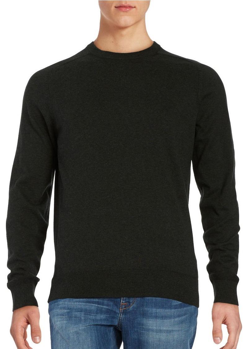 BEN SHERMAN Cotton Crewneck Sweater