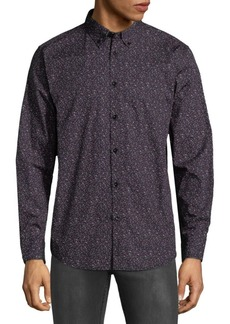 Ben Sherman Floral Cotton Button-Down Shirt