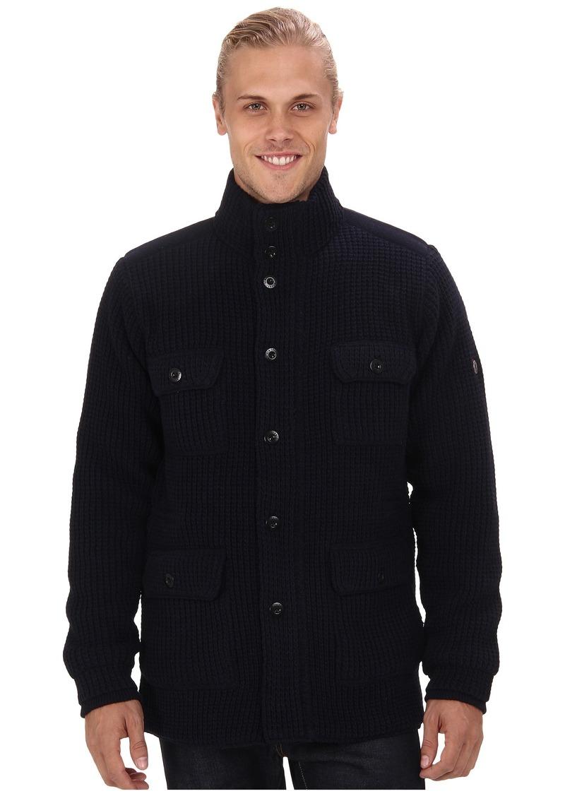 Ben Sherman Four Pocket Knitted Jacket ME10981
