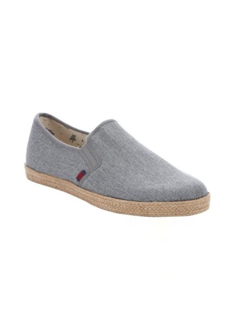 ben sherman ben sherman grey canvas 39 jenson 39 espadrille loafers shoes shop it to me. Black Bedroom Furniture Sets. Home Design Ideas