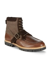 Ben Sherman Head Start Leather Ankle Boots