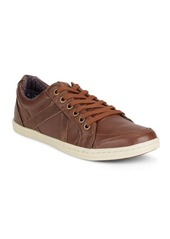 Ben Sherman Lace-Up Patchwork Shoes