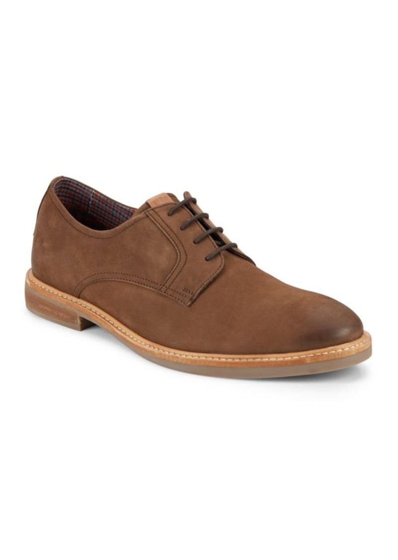 Ben Sherman Leather Lace-Up Oxfords