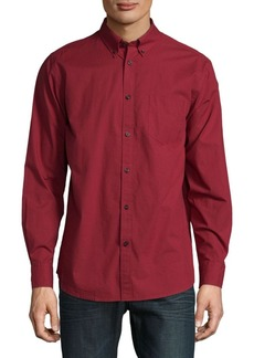 Ben Sherman Long Sleeve Cotton Casual Button-Down Shirt
