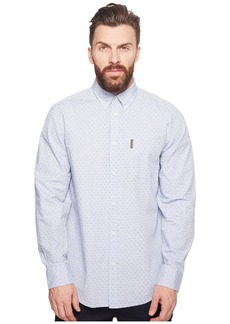 Ben Sherman Long Sleeve Ditsy Square Print Shirt