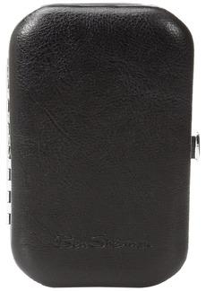 Ben Sherman Luggage Noak Hill Collection Vegan Leather Toiletry Travel Kit