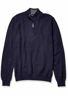 Ben Sherman Men's 1/4 Zip Sweater  L