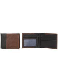 Ben Sherman Men's 5-Pocket Bi-Fold Wallet