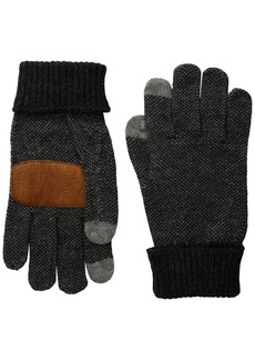 Ben Sherman Men's Birdseye Touch Tech Glove