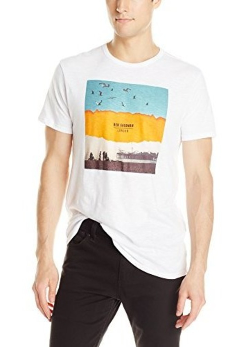 Ben Sherman Ben Sherman Men 39 S Brighton Print Tee Bright