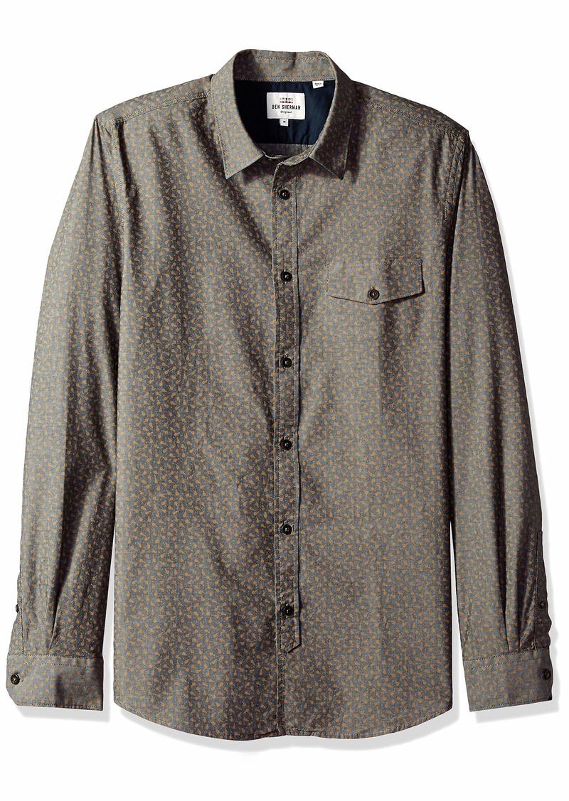 Ben Sherman Men's Chambray Tulip Shirt