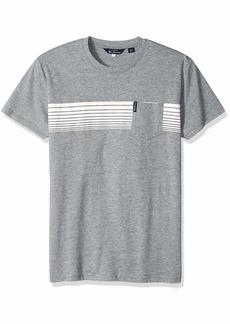 Ben Sherman Men's Chest Stripes Styled TEE  M