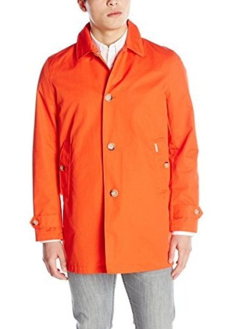 ben sherman ben sherman men 39 s cotton mac coat terracotta x large outerwear shop it to me. Black Bedroom Furniture Sets. Home Design Ideas
