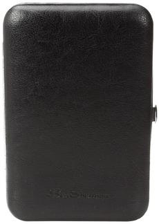 Ben Sherman Men's Edgeware 10-Piece Personal Grooming Set with Carrying Case black