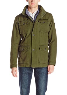 Ben Sherman Men's Cotton Canvas Field Jacket  L