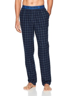 Ben Sherman Men's Flannel Logo Pant  L