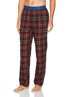 Ben Sherman Men's Flannel Logo Pant  S