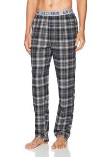 Ben Sherman Men's Flannel Logo Pant  S