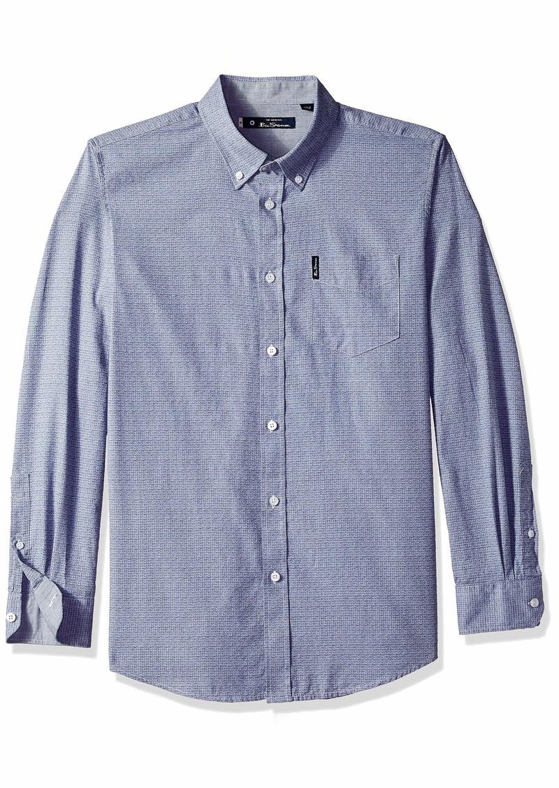 Ben Sherman Men's Grindle Texture Shirt