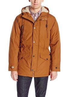 Ben Sherman Men's Parka Jacket with Sherpa Hood Lining  L