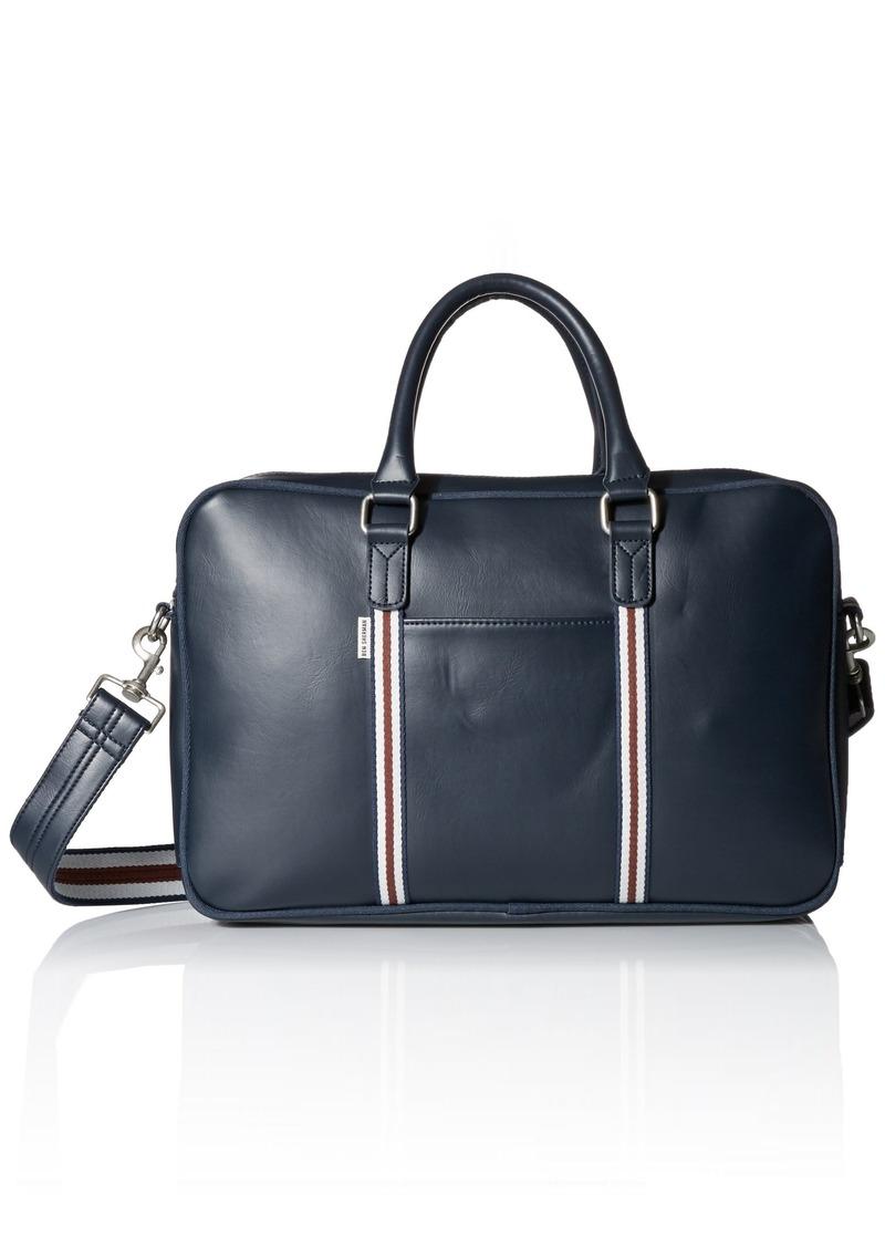 Ben Sherman Men's Iconic Double Zip Commuter Bag