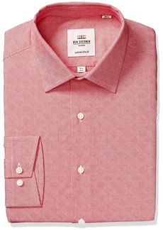 Ben Sherman Men's King Slim Fit Gingham Dress Shirt