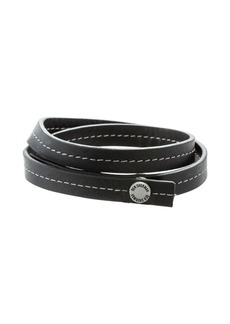 Ben Sherman Men's Leather Wrap Bracelet