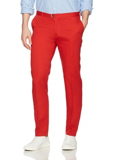Ben Sherman Men's Lightweight TWLL Pant Script red