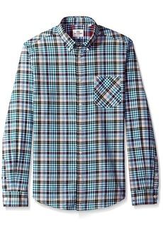 Ben Sherman Men's Longsleeve Tartan Gingham Shirt