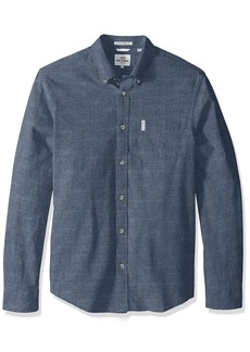Ben Sherman Men's Longsleeve Chambray Woven Shirt