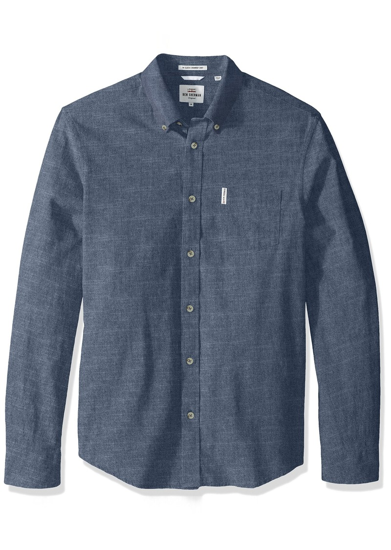4ff66876f95 Ben Sherman Ben Sherman Men s Longsleeve Chambray Woven Shirt ...