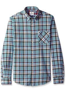Ben Sherman Men's Longsleeve Tartan Gingham Shirt  XL
