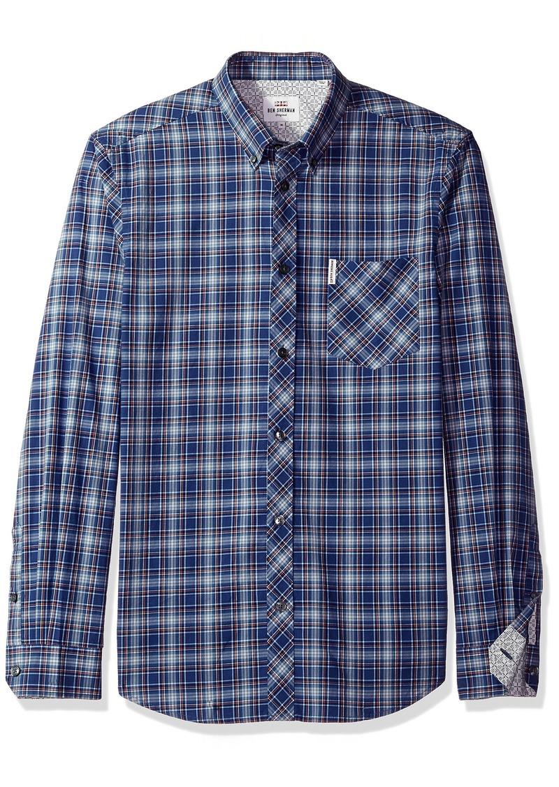 Ben Sherman Men's Longsleeve Tartan Shirt