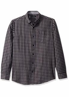 Ben Sherman Men's LS Brushed Mini CHK Shirt