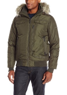 Ben Sherman Men's Nylon Bomber Jacket  M