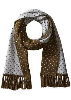 Ben Sherman Men's Micro Dot Knit Scarf