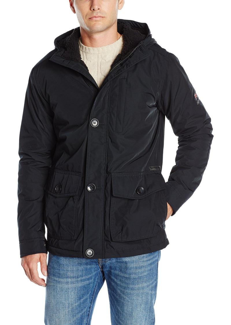 ben sherman ben sherman men 39 s midweight dewspo jacket s outerwear shop it to me. Black Bedroom Furniture Sets. Home Design Ideas