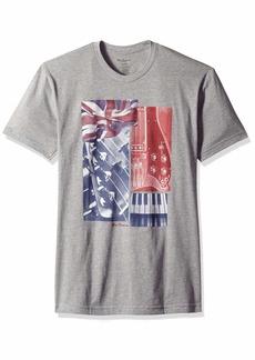 Ben Sherman Men's Music Collage T-Shirt