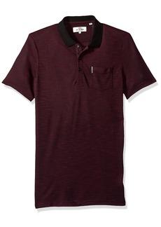 Ben Sherman Men's Polished Viscose Polo Shirt