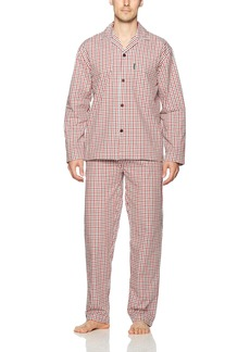Ben Sherman Men's Poplin Pyjama Set-Bsm1216us  XL