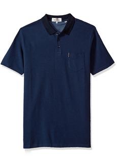 Ben Sherman Men's Retro SPOT Jacquard Jersey Polo  XL
