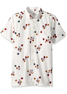 Ben Sherman Men's Short Sleeve Aquarius Archive Shirt  XL