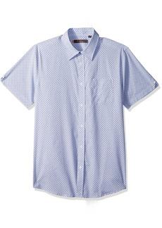 Ben Sherman Men's Short Sleeve End Print Shirt  XXLarge