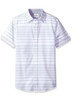Ben Sherman Men's Short Sleeve Horizontal Stripe Shirt  M