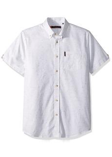 Ben Sherman Men's Short Sleeve Plain NEP Shirt  XXLarge