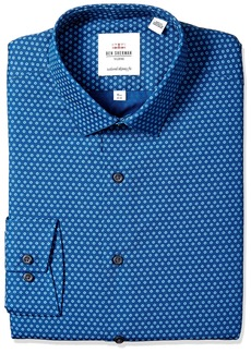 Ben Sherman Men's Skinny Fit Soho Floral Print Dress Shirt