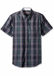 Ben Sherman Men's SS END Plaid Shirt  XL