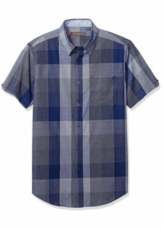 Ben Sherman Men's SS Exploded Check Shirt  XXL