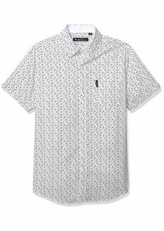 Ben Sherman Men's SS FLRL Paisley PRT Shirt  XXL